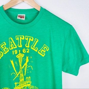 VTG Inspired 1962 Seattle Worlds Fair Tee Shirt B2